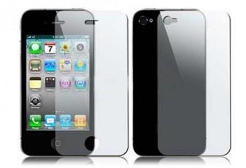 Skjermbeskytter Front/Bak til iPhone 4 og 4S