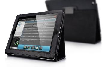 Mappe Etui Premium for iPad 2/iPad 3/iPad 4 Svart