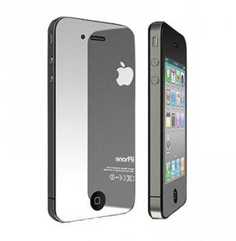 Skjermbeskytter til iPhone 4 og 4S Speileffekt