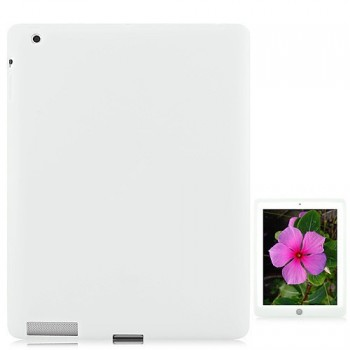 Deksel for iPad 2/iPad 3/iPad 4 Silikon Hvit