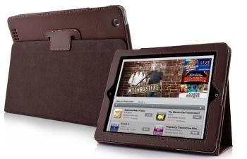 Mappe Etui Premium for iPad 2/iPad 3/iPad 4 Brun
