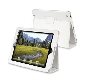 Mappe Etui Premium for iPad 2/iPad 3/iPad 4 Hvit