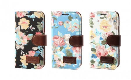 Lommebok Etui for Samsung Galaxy S5 Rose