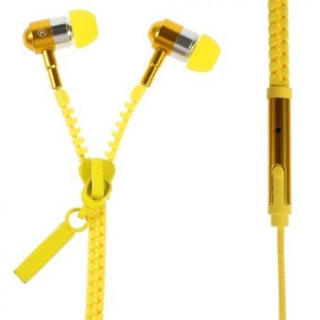 Zipper �replugger m/Mikrofon Gul