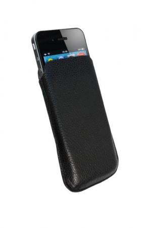 L�r Lomme Etui Iphone 4/4S Svart