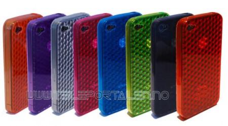 Gelcase Deksel iPhone 4/4S Krystall