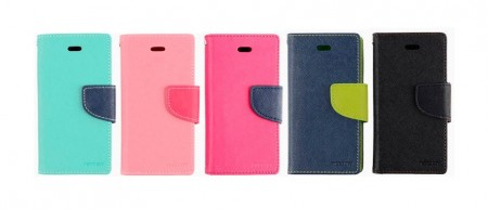 Lommebok Etui for iPhone 5/5s Mercury