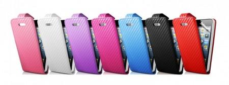 Flipp Etui iPhone 5 Carbon