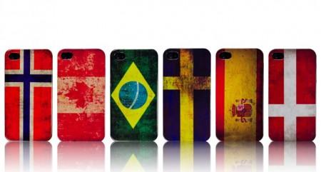 Hardcase iPhone 4/4S Nasjonal Flagg