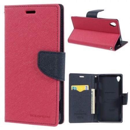 Lommebok Etui for Sony Xperia Z3 Mercury M�rk Rosa