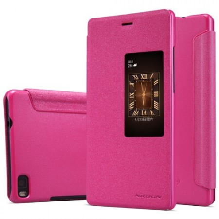 Etui for Huawei P8 Slimbook Sparkle Rosa