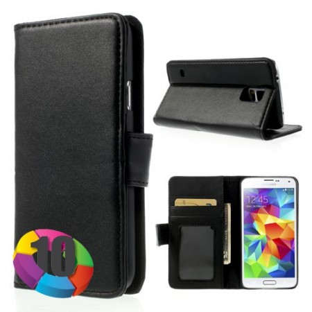 Lommebok Etui for Samsung Galaxy S5 m/kortlommer