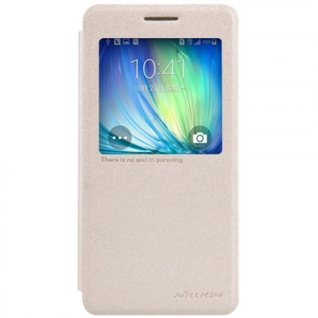 Slimbook Etui for Galaxy A5 Sparkel Champagne