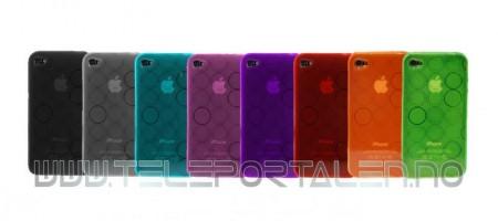 Gelcase Deksel for iPhone 4/4S Sirkel
