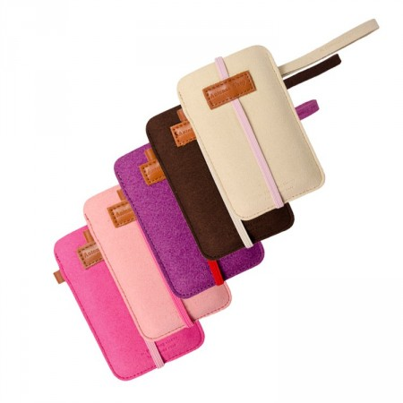 Lomme Etui Iphone 4/4S m/stropp