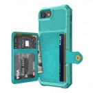 iPhone 6 Pluss / 7 Pluss / 8 Pluss Deksel Armor Wallet Turkis thumbnail