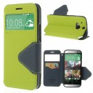 Slimbook Etui for HTC One (M8) Lime thumbnail