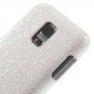 Deksel for Samsung Galaxy S5 Mini Glitter Hvit thumbnail