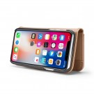 2i1 Etui m/3 kortlommer Lux iPhone X/Xs Beige thumbnail
