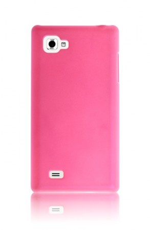 Hardcase Deksel for LG Optimus 4X Rosa
