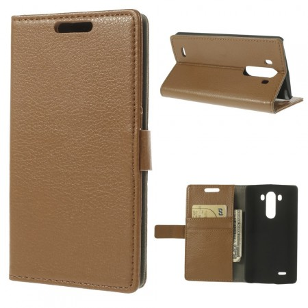 Slimbook Etui for LG G3 Brun