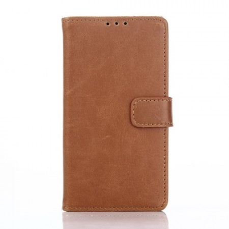 Lommebok Etui for Sony Xperia Z5 Compact Classic Lys Brun