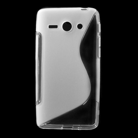 Deksel for Huawei Ascend Y530 S-Line Transparent