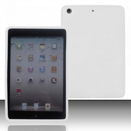 Deksel for iPad Mini Silikon Hvit