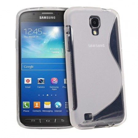 S-line Deksel for Samsung Galaxy S4 Active Transparent
