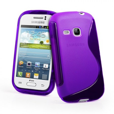 S-line Deksel for Galaxy Young (S6310) Lilla