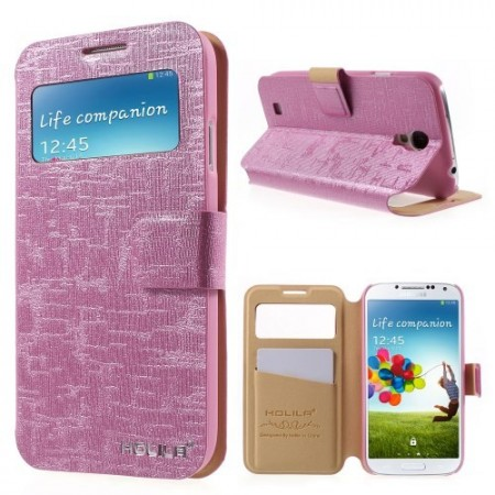 Etui m/skjermbindu for Galaxy S4 Holila