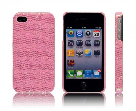 Glittercase for iPhone 4/4S Rosa