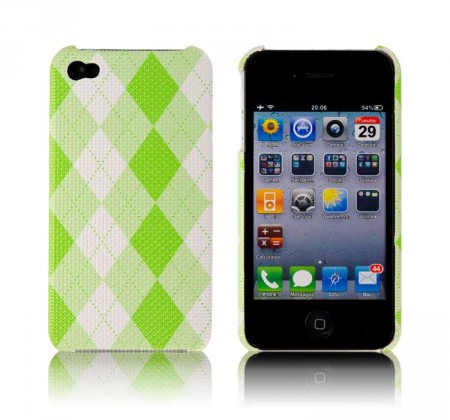 Hardcase Iphone 4/4S Ruter Lime