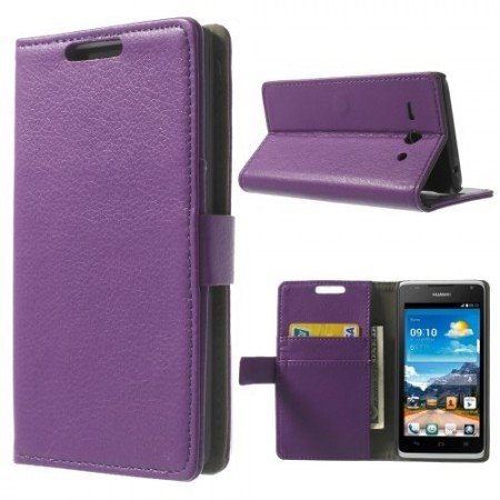 Etui Lommebok for Huawei Ascend Y530 Classic Lilla