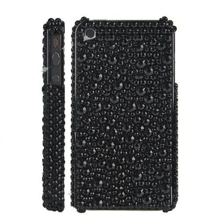 Deksel for Iphone 4/4S Bling Svart