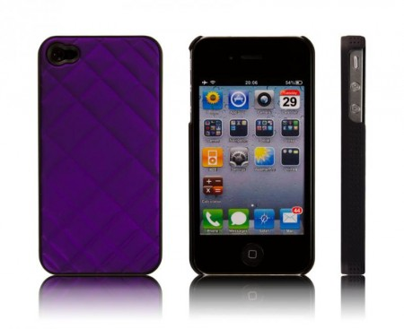 Deksel for Iphone 4/4S Pute Lilla