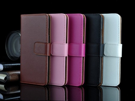 Lommebok Etui for iPhone 6 Pluss Genuine
