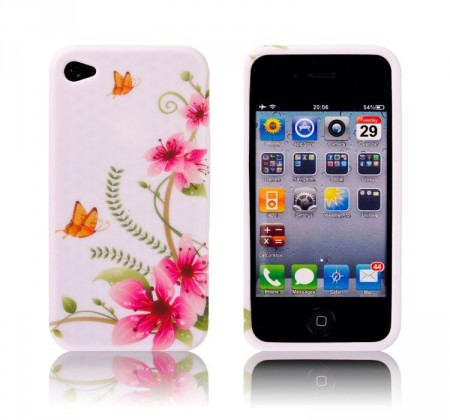Deksel til iPhone 4 Blomster 1