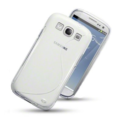 S-line Deksel for Samsung Galaxy S3 Blank