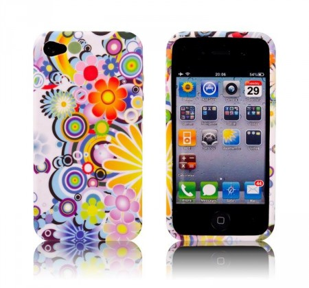 Deksel til iPhone 4 Flower Power 1