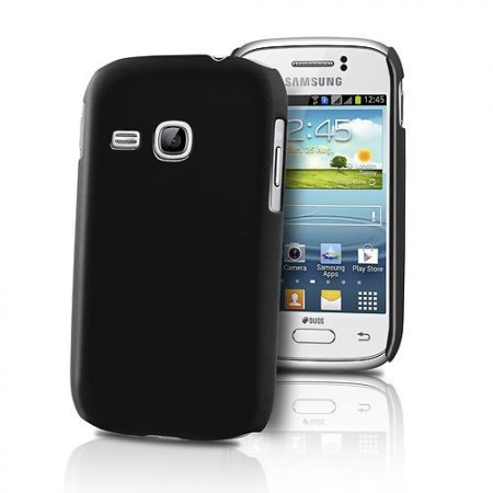 HardCase Deksel for Galaxy Young (S6310) Svart