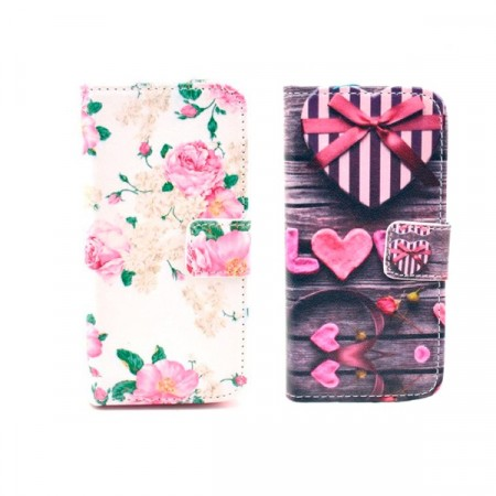 iPhone 5/5s/SE Etui m/kortlommer Art
