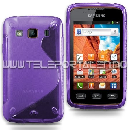 S-Line Deksel for Samsung Galaxy Xcover Lilla