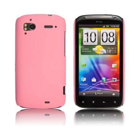 Deksel for HTC One Hardcase Rosa