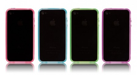 Selvlysende Bumper for iPhone 4 og 4S