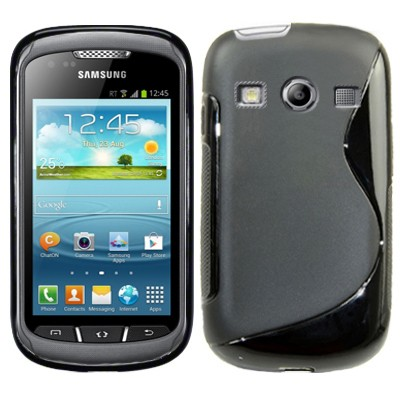 S-Line Deksel for Samsung Galaxy Xcover 2 Svart