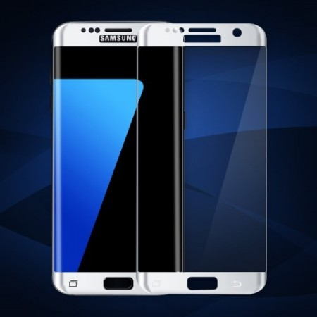 Heldekkende Skjermbeskytter av herdet glass for Galaxy S7 Edge