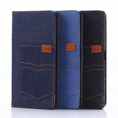 Xperia X Performance Etui Denim Pocket