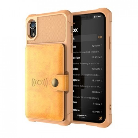 iPhone XR Deksel Armor Wallet