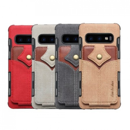Galaxy S10 Deksel Wallet Buckle